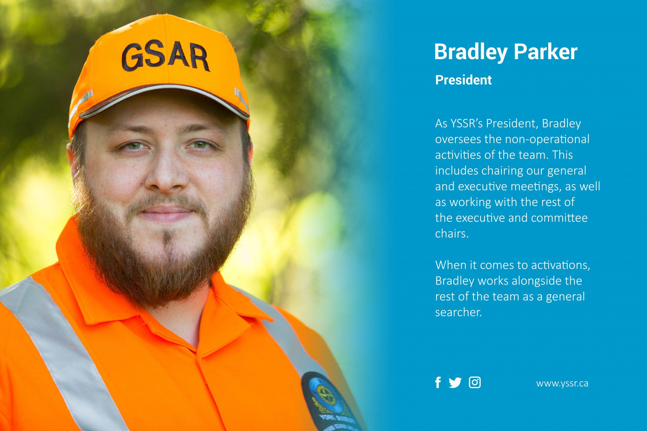 President Bradley Parker highlight
