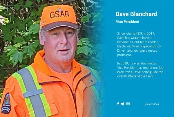 Vice President Dave Blanchard highlight